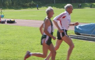 Senioren bei der Leichtathletik