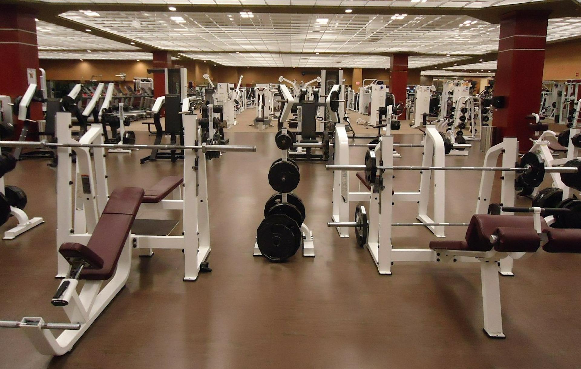 Fitnessstudio - Trainingsfläche